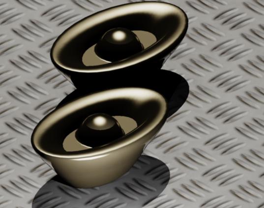 [影片]斷面混成 LOFT範例-3D金元寶 0121-1